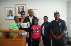 Consul General Rolle Helps To Make Dream Come True For Young Austistic Bahamian