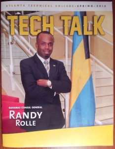Bahamas Consul General Randy E. Rolle Secures Opportunities for Bahamian Students and Atlanta Technical College